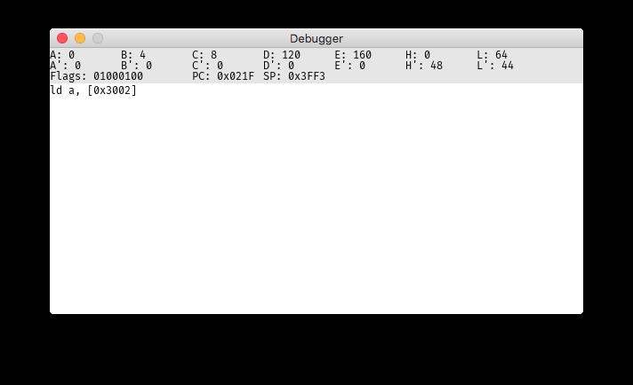 The debugger I wrote
