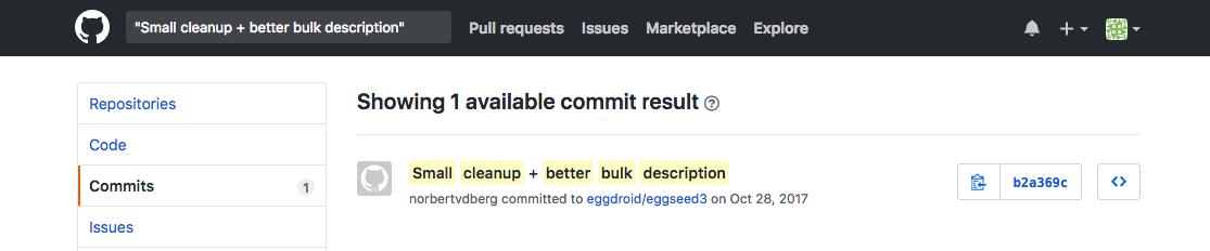 Searching GitHub