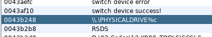 The mysterious `\\.\PHYSICALDRIVE%c` string.